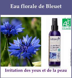 Eau florale bleuet 9