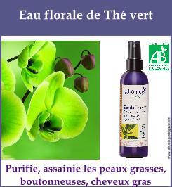 eau florale de the vert
