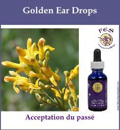 Golden ear drops