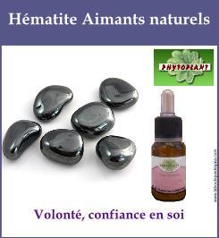 Hematite aimants naturels