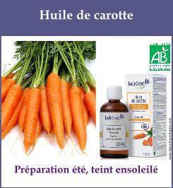 Huile de carotte
