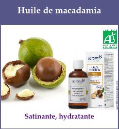 huile macadamia
