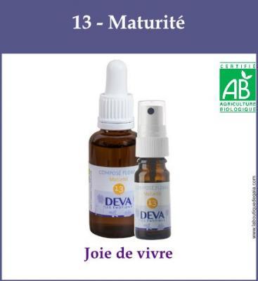 13 - Maturité