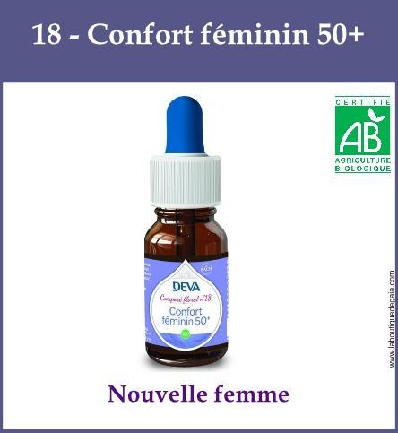 18 confort feminin 50