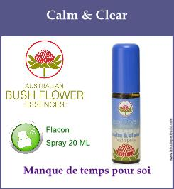 Calm and clear spray
