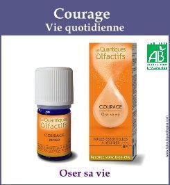 quantique olfactif courage