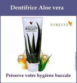 dentifrice aloe vera forever