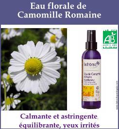 eau florale camomille