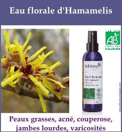 eau florale hamamelis