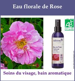eau florale rose de damas