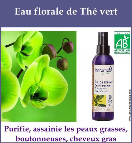 Eau florale the vert