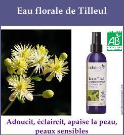eau florale tilleul