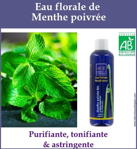 eau florale menthe poivree