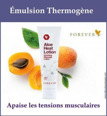 Émulsion Thermogène - Aloe Heat Lotion