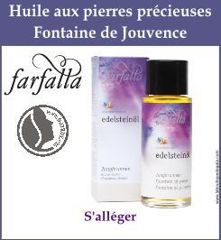 huile farfalla fontaine de jouvence