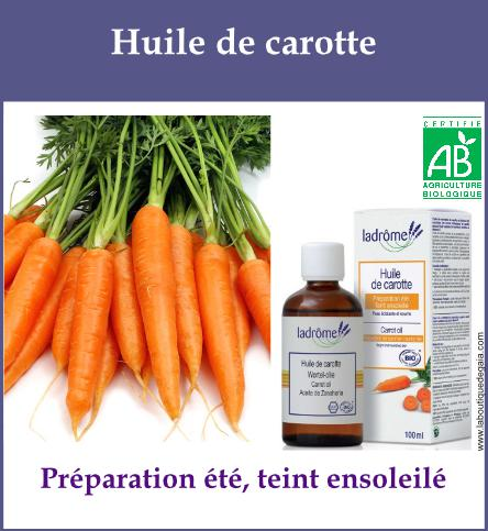 Huile carotte