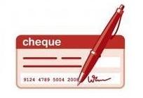 Logo paiment par cheque 1