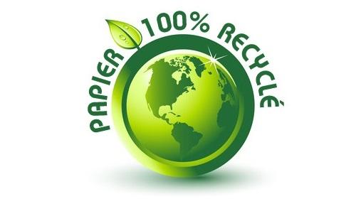 Logo papier recycle 1