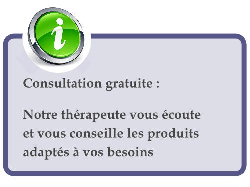 Menu contact consultation therapeute