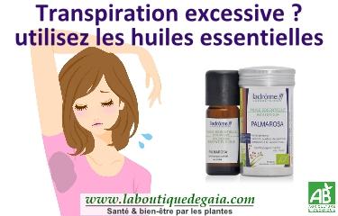 huiles essentielles transpiration aisselles