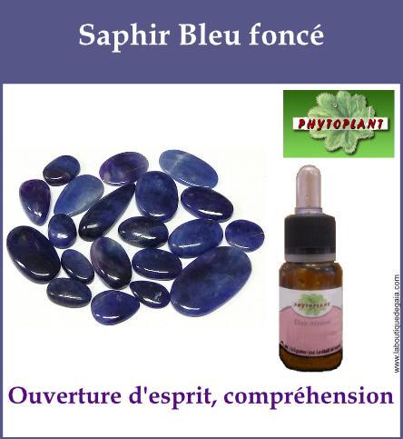 Saphir bleu fonce 1