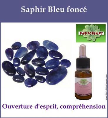 Saphir Bleu Foncé