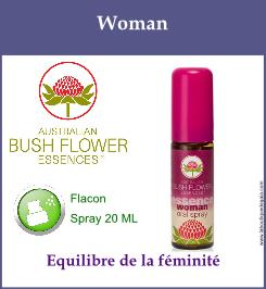 Woman spray